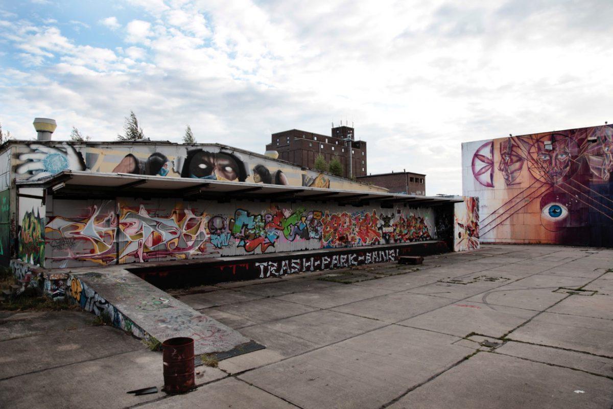 Graffiti Areal. © Annika Schmermbeck.