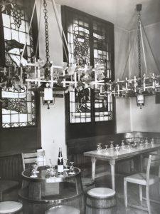 Weinstudio Grün-Rot. © Dickmann.