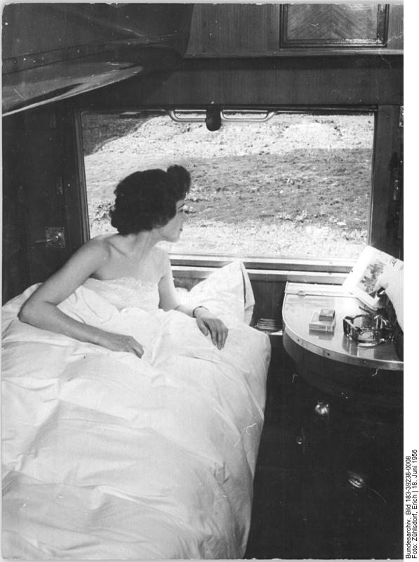 Reise im Schlafwagen (1956) (c) Bundesarchiv Bild-183-39238-0008 / Fotograf Zühlsdorf